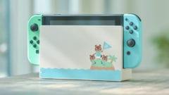Nintendo Switch im Look von Animal Crossing