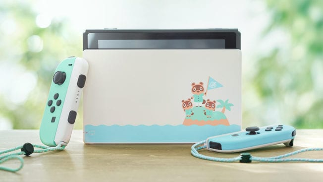 Nintendo Switch Animal Crossing Design