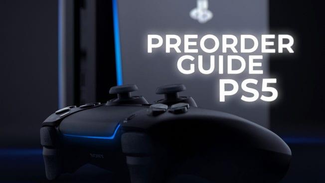 PS5 Vorbestellen Preorder 2