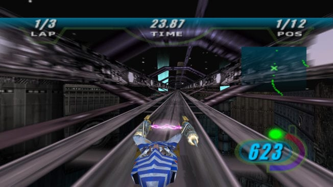 Star Wars Episode 1: Pod Racer Gameplay Screenshot
