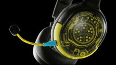 Cyberpunk 2077 Headsets von SteelSeries