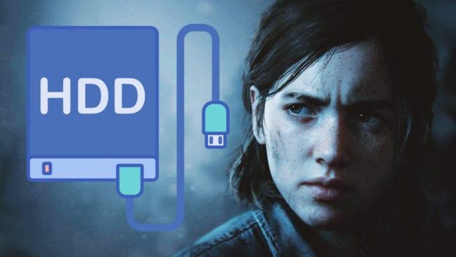 The Last of Us 2 Größe Festplatte Installation