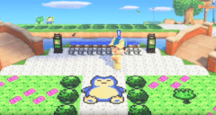 Animal Crossing New Horizon - Pokémon Gold/Silber