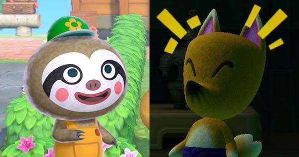 Gerd und Reiner in Animal Crossing: New Horizons