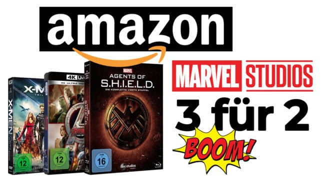 Marvel-Aktion bei Amazon