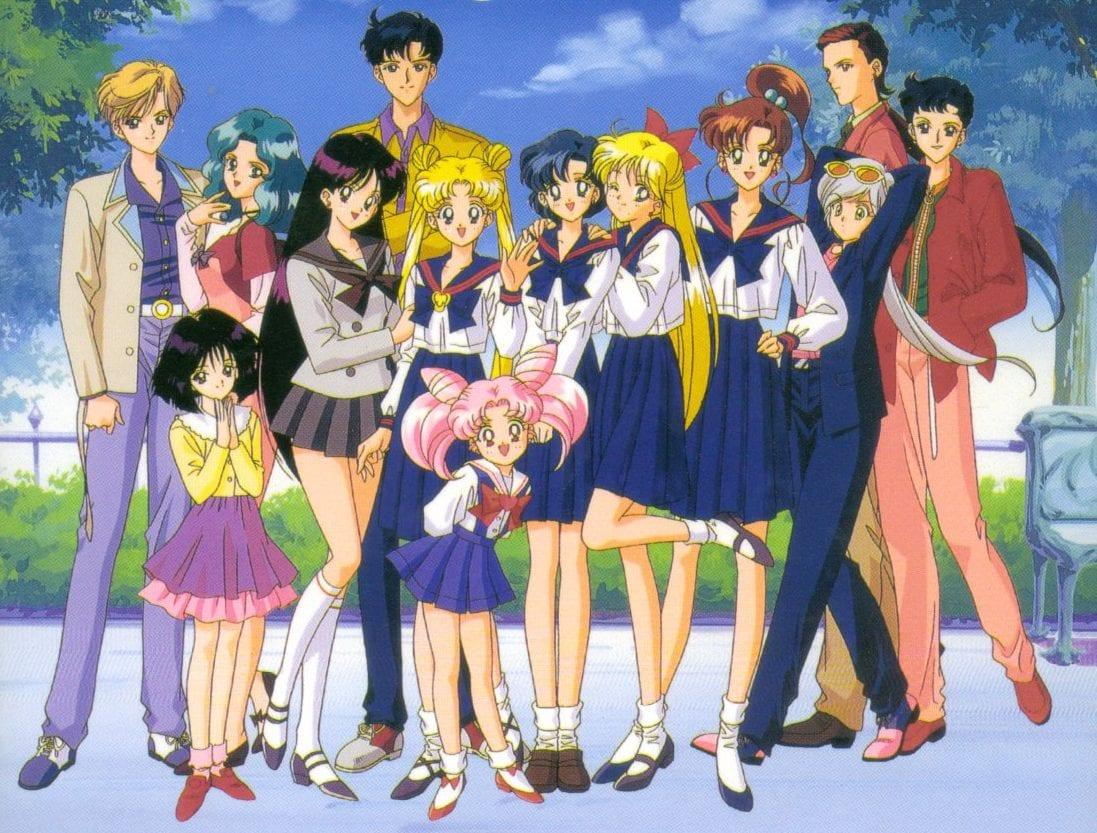 Sailor Moon Gruppe