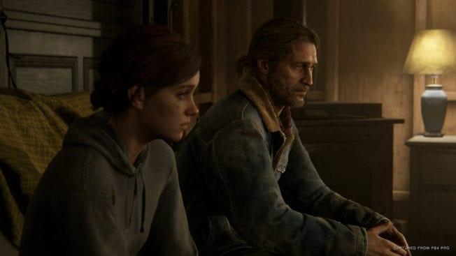 The Last of Us 2 Joel Ellie