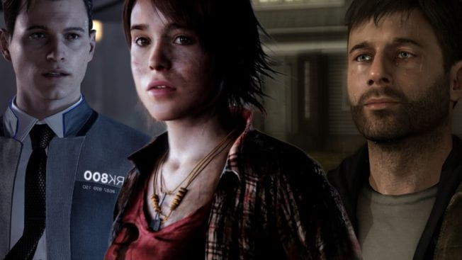 Detroit: Become Human, Heavy Rain und Beyond: Two Souls Steam