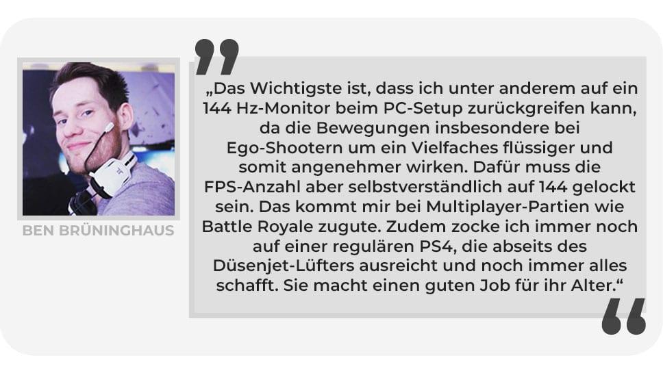 Ben Brüninghaus Gaming Setup PlayCentral