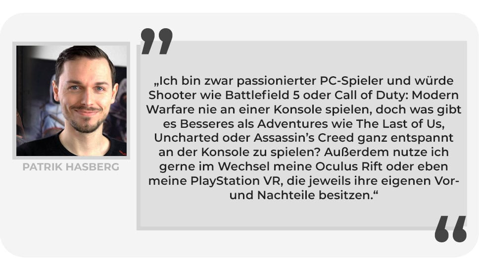 Patrik Hasberg Gaming Setup PlayCentral
