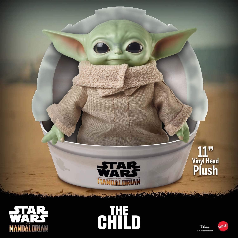 Baby Yoda Plüschfigur Mattel