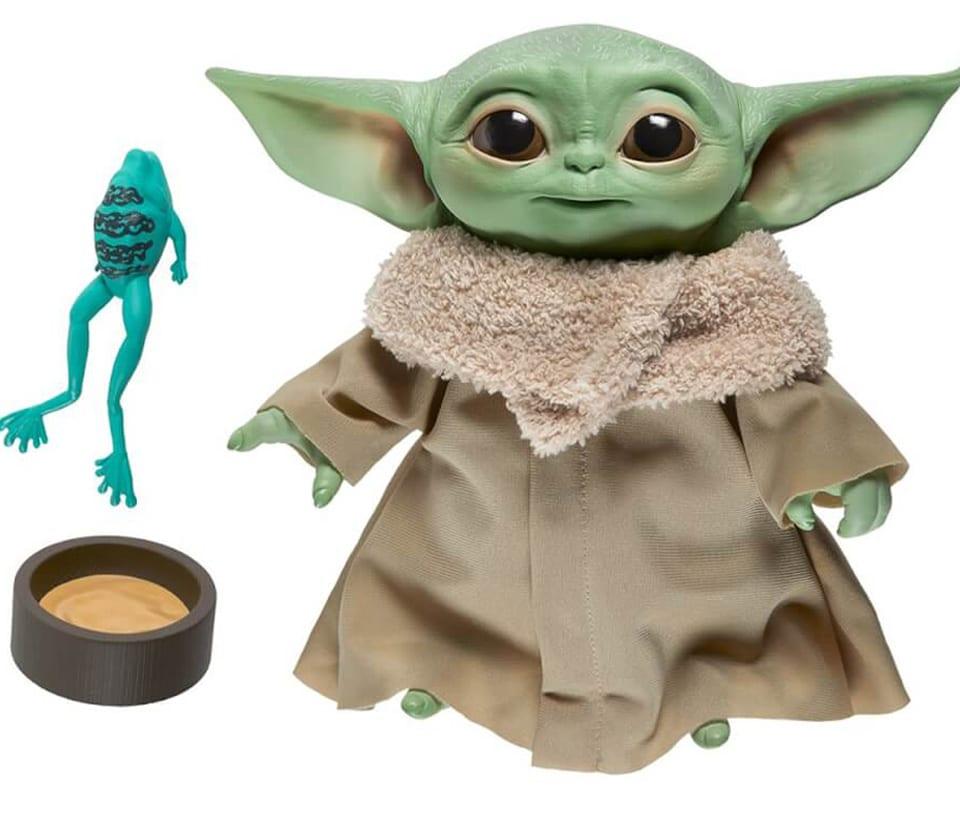 Baby Yoda elektronische Plüschfigur