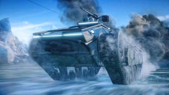 Battelefield 2042 - Panzer im Schnee