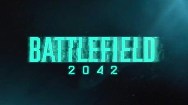 Battelefield 2042 – Schriftzug von 2042
