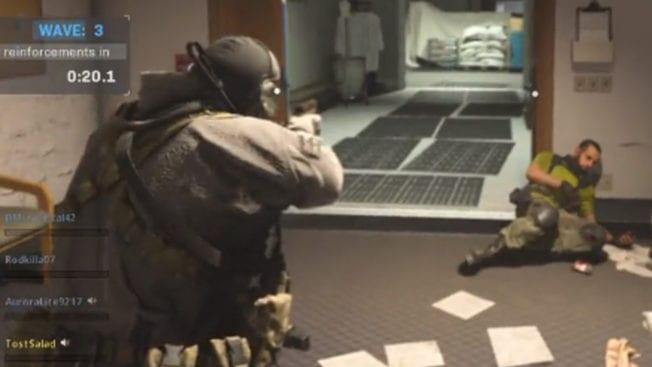 Call of Duty Modern Warfare Third Person