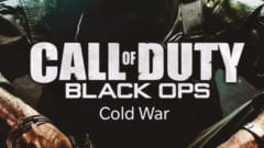 Cold War Call of Duty