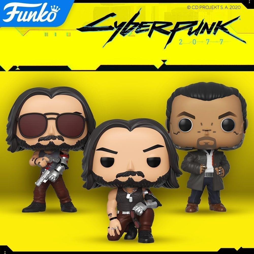 Cyberpunk 2077: Funko Pop Figuren