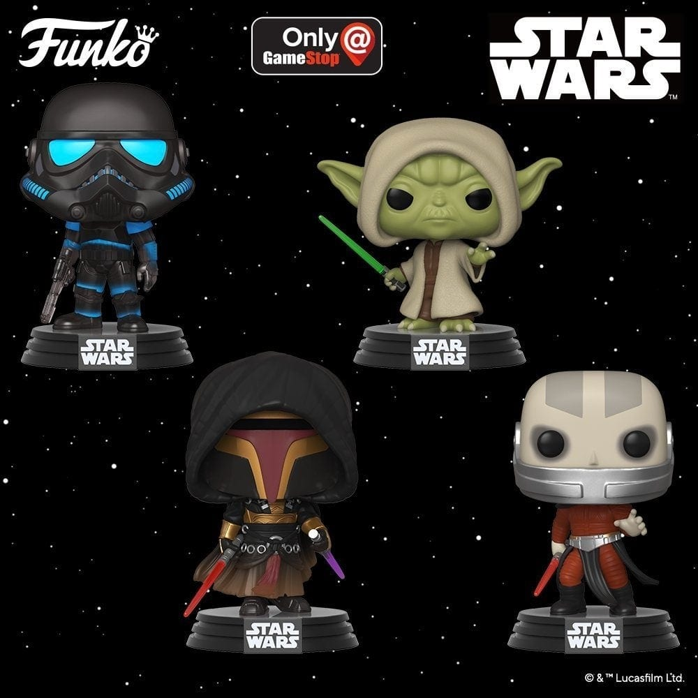 Darth Revan und Darth Malak als Funko