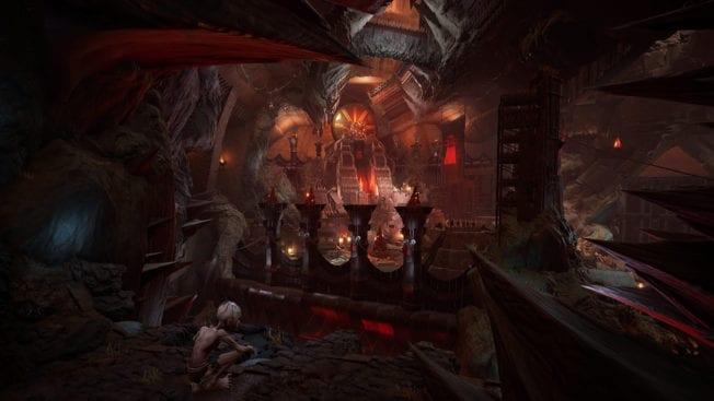Der Herr der Ringe Gollum Mordor