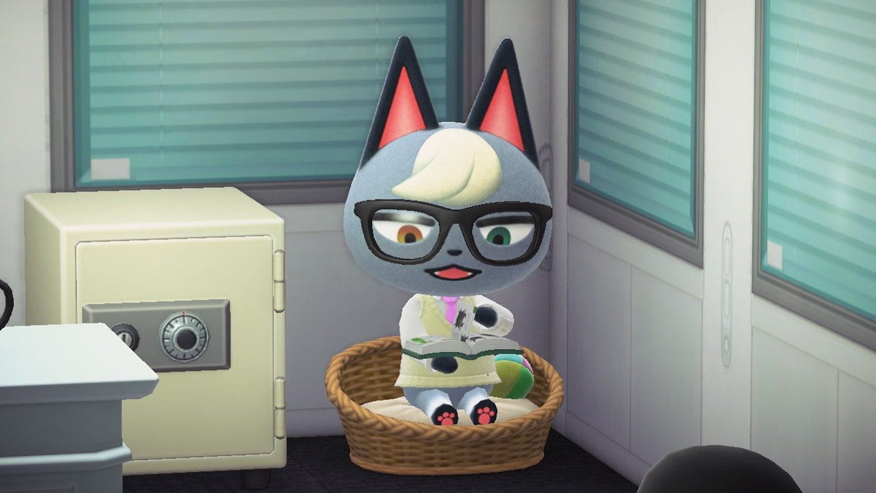 Gunnar (Raymond) als beliebtester Bewohner in in Animal Crossing New Horizons