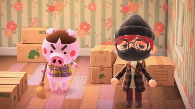 Animal Crossing New Horizons Bewohner