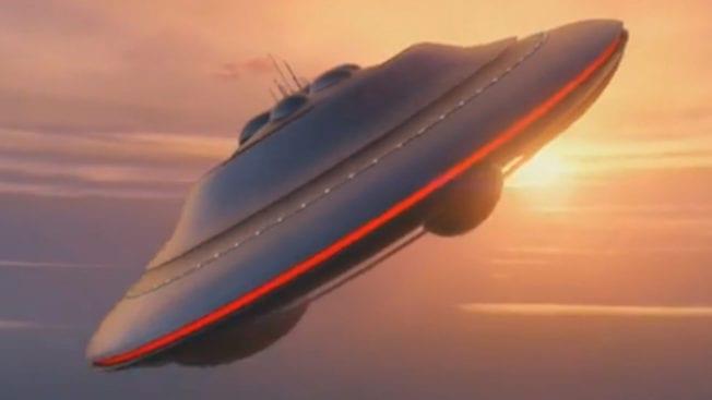 GTA 5 Online UFO