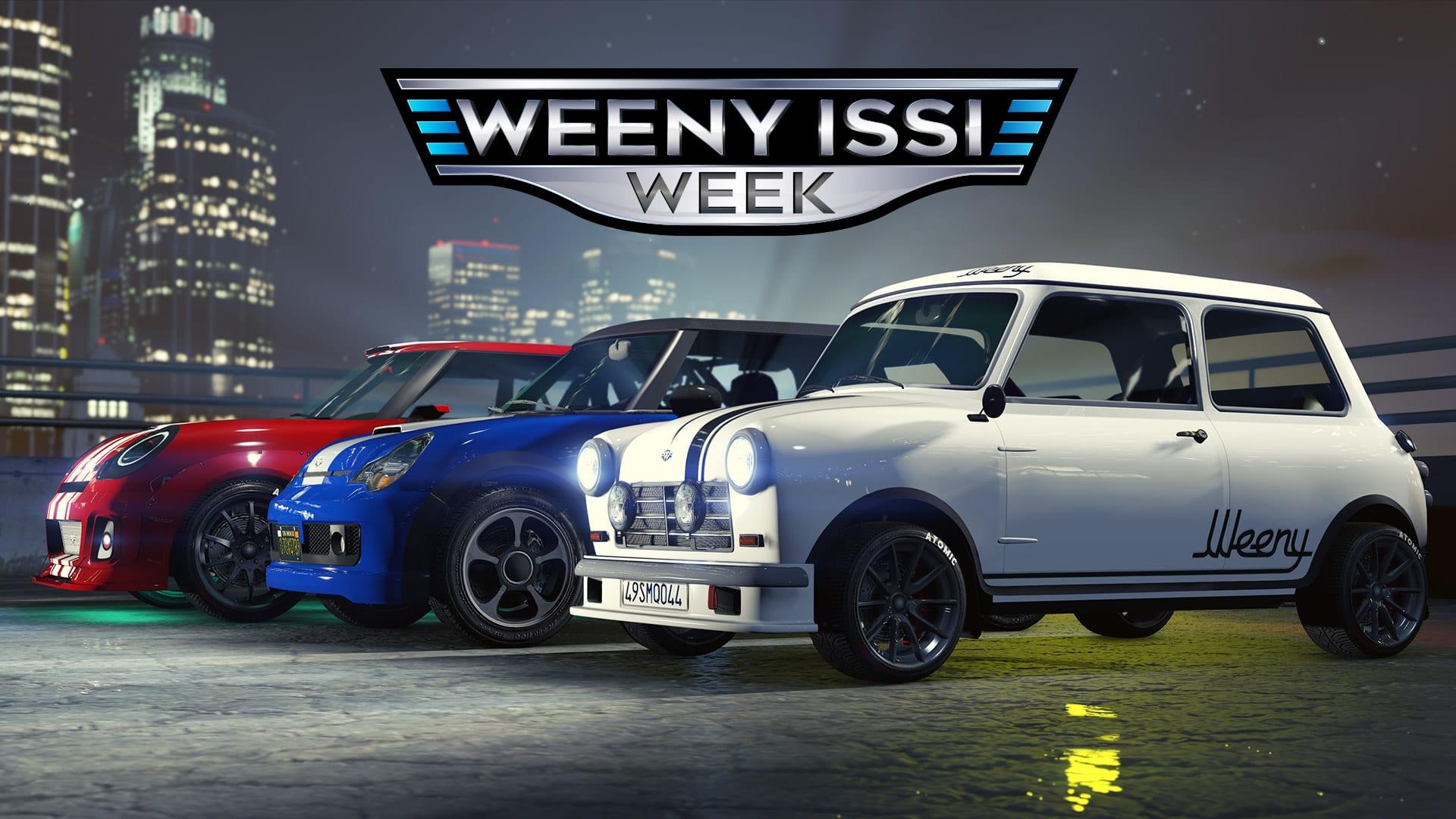 GTA Online Weeny Issi Week