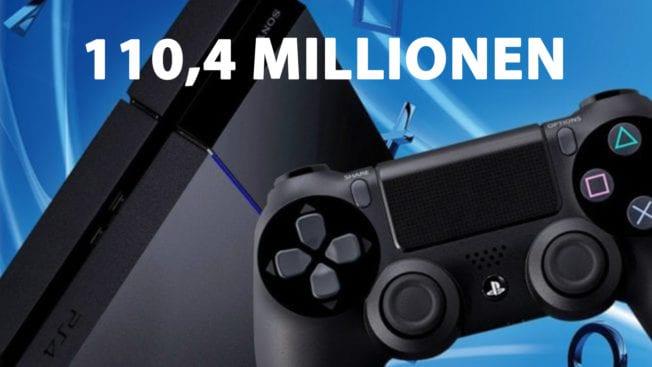 PS4 Verkäufe Stück Zahlen