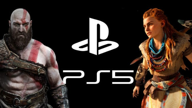 PS5 PlayStation Kratos Aloy