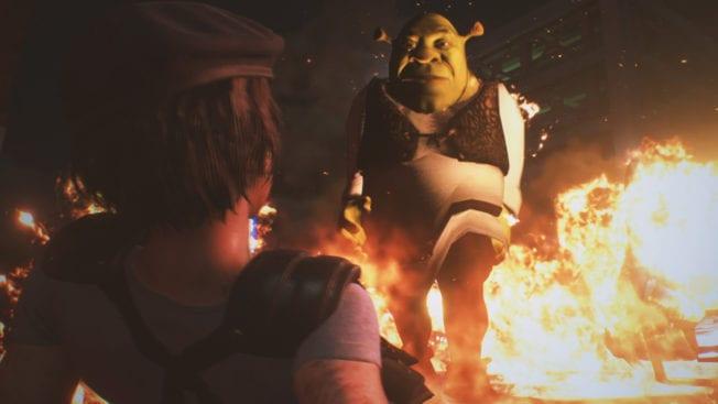 Resident Evil 3 Nemesis Shrek