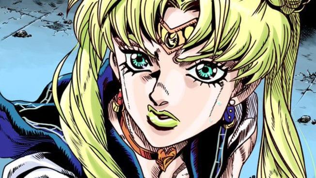 Sailor Moon JoJo Style