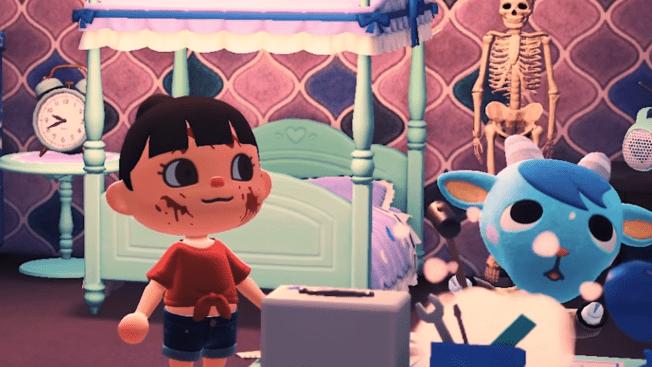 Animal Crossing New Horizons Horrorfilm Trailer