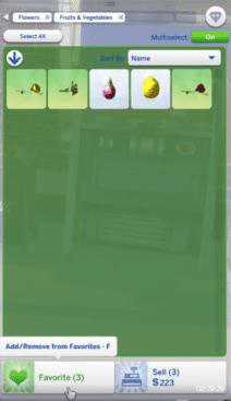 Die Sims Update Juni 2020 Inventar