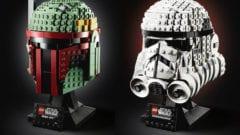 Star Wars LEGO Helme