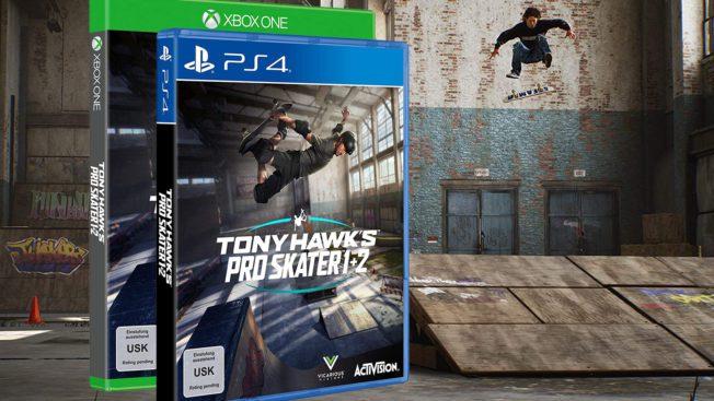 Tony Hawk Pro Skater 1 und 2 Vorbestellen