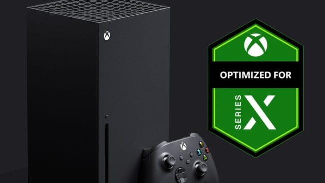Xbox Series X optimiert