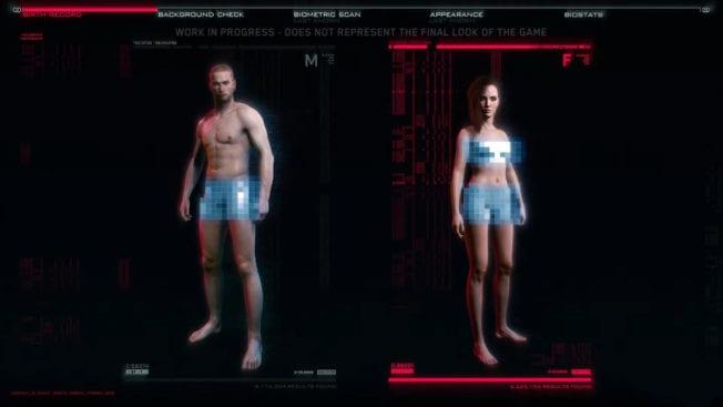 Gender wird in Cyberpunk 2077 kein Thema sein