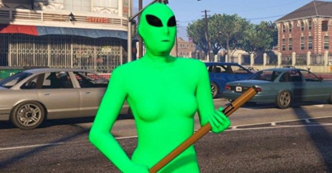 GTA Online: Aliens-Gangs