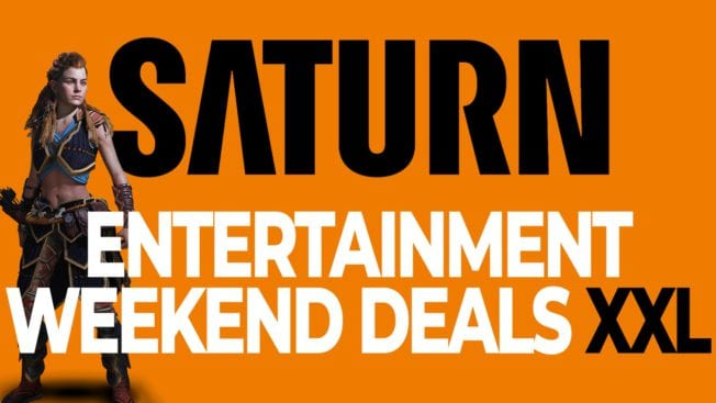 Saturn Entertainment Weekend Deals XXL