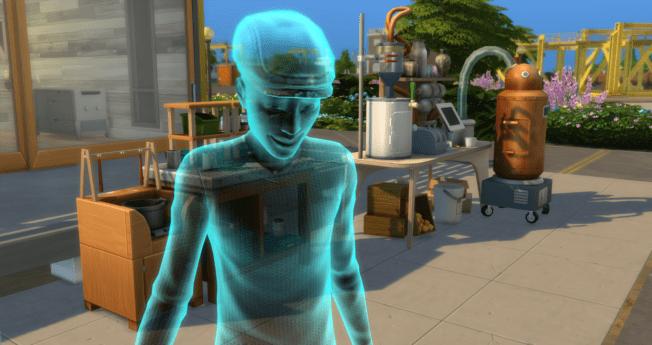 Die Sims 4 Nachhaltig leben Cheat Tod Fliegen