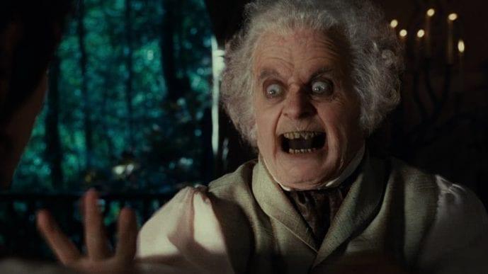 Herr der Ringe Ian Holm Bilbo Beutlin
