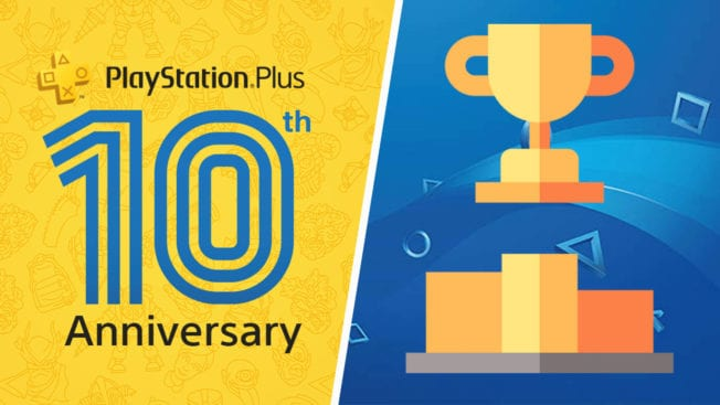 10 Anniversary PS Plus