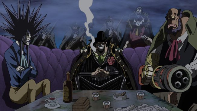 Capone Bege, Anime, One Piece