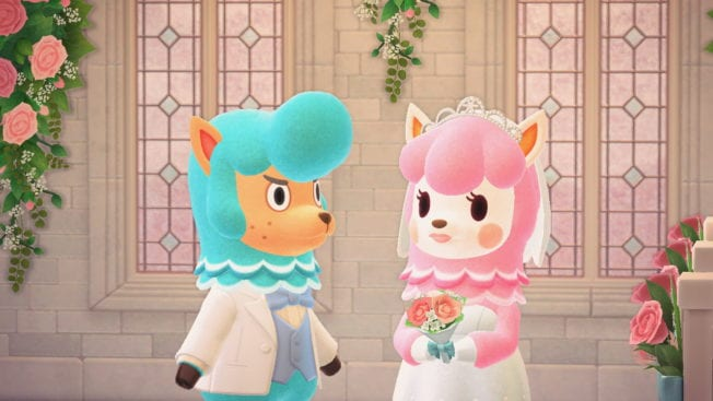 Animal Crossing New Horizons Hochzeit