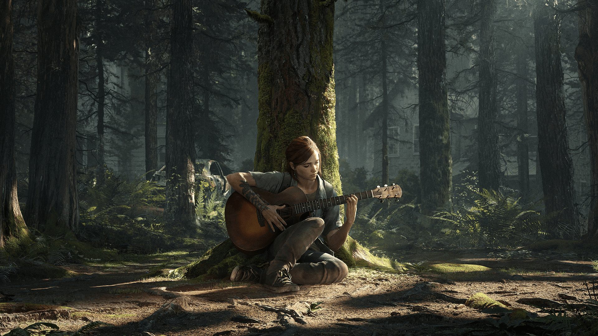 The Last of Us 2 Ellie Gitarre