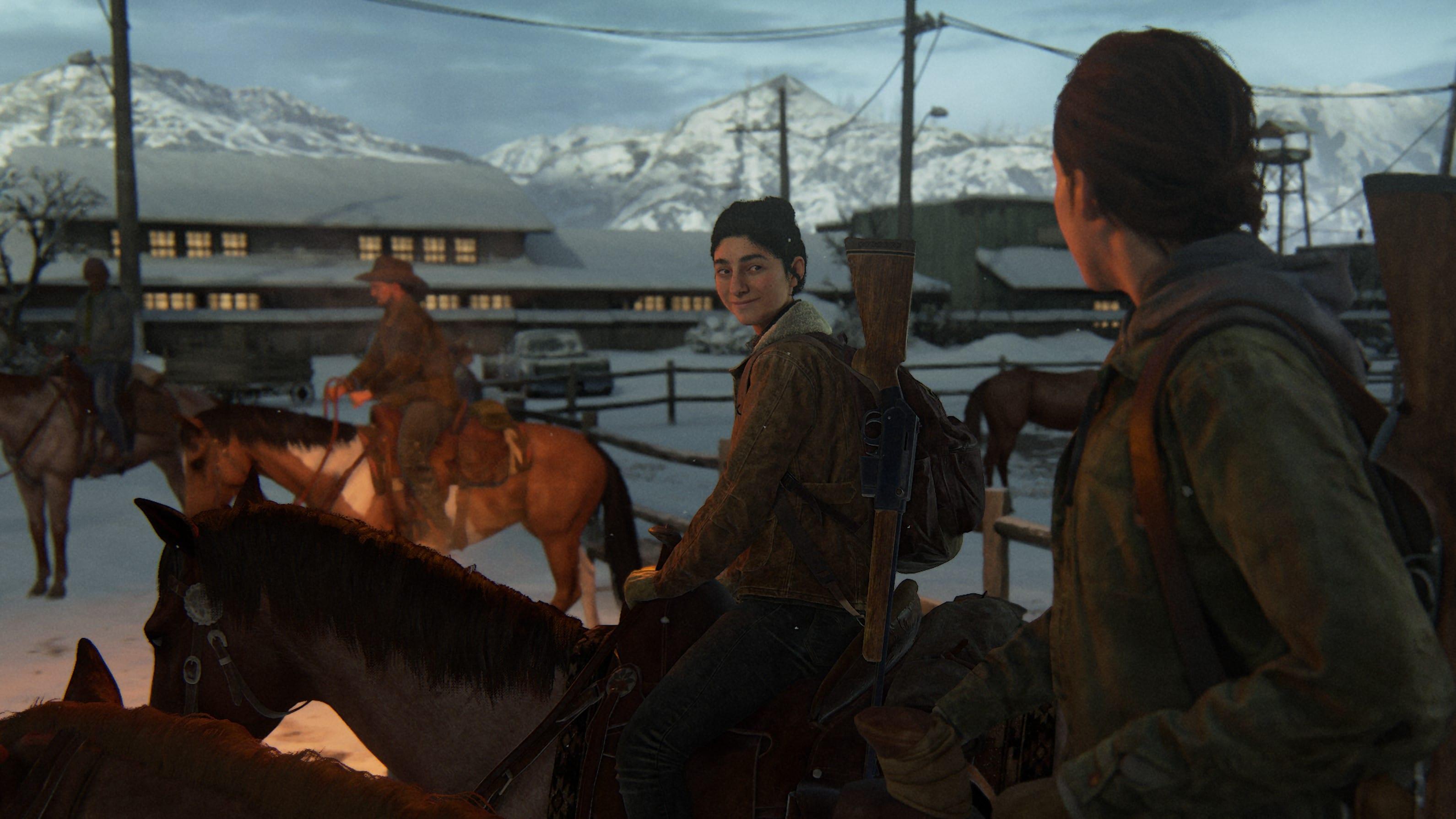 The Last of Us 2 Dina Pferd