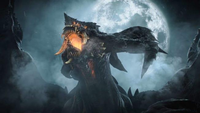 Demon Soul's Drache Bild