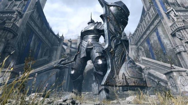 Demon Soul's Ritter und Rüstung
