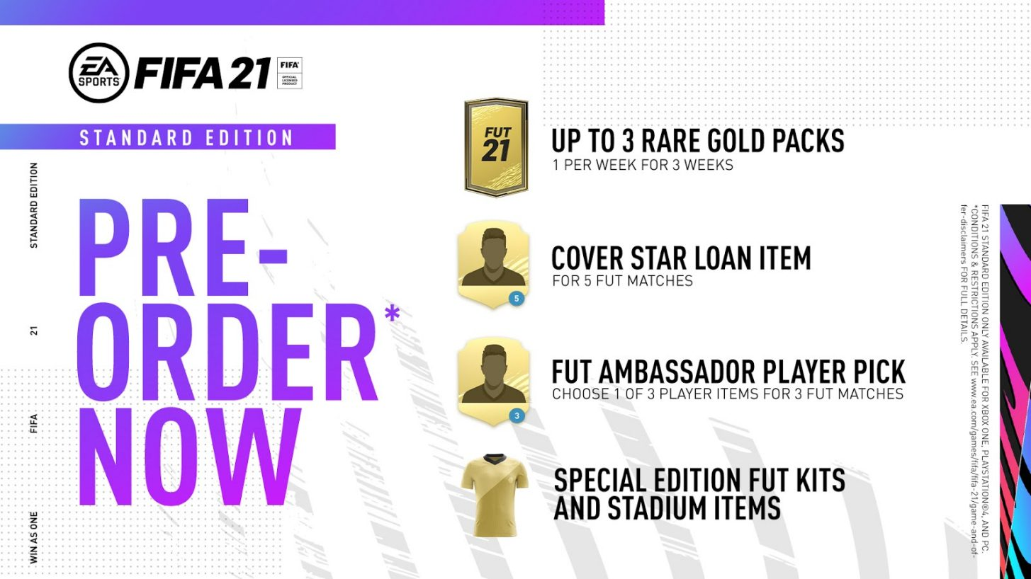 FIFA 21 Standard Edition Alle Infos