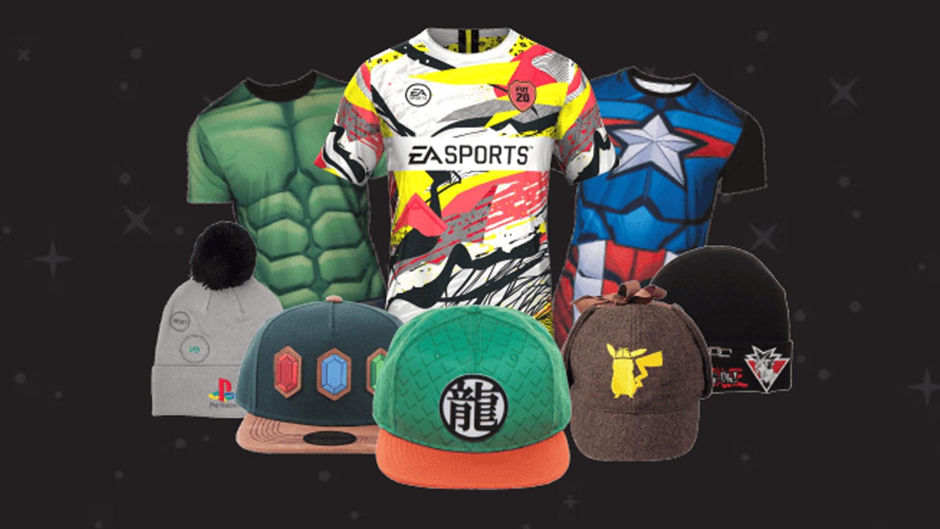 GameStop T-Shirts Cappies